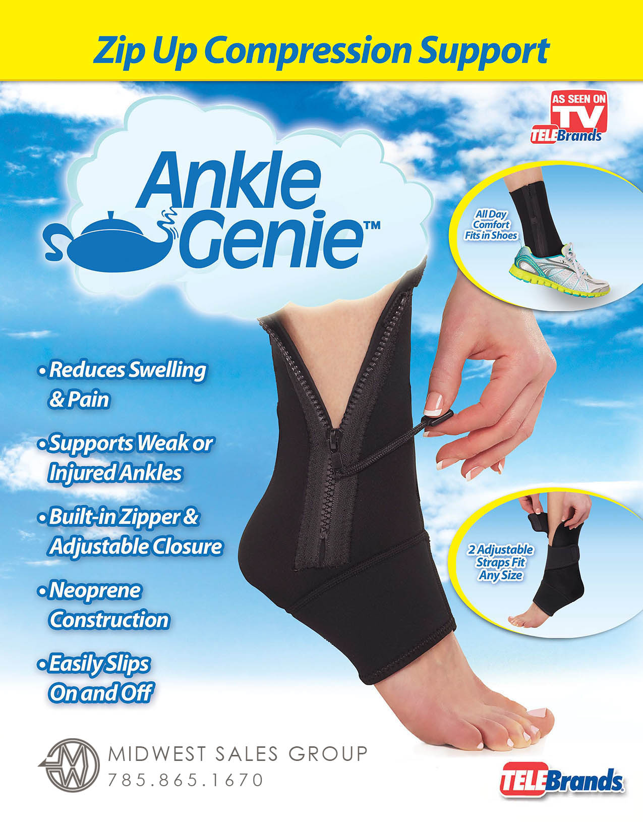 Ankle Genie SELL SHEET 1