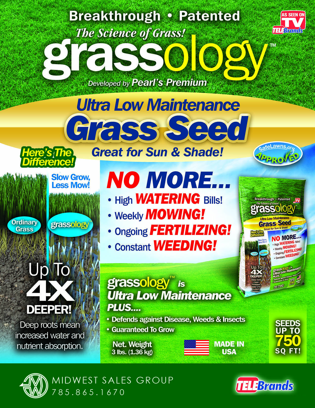 Grassology SELL SHEET