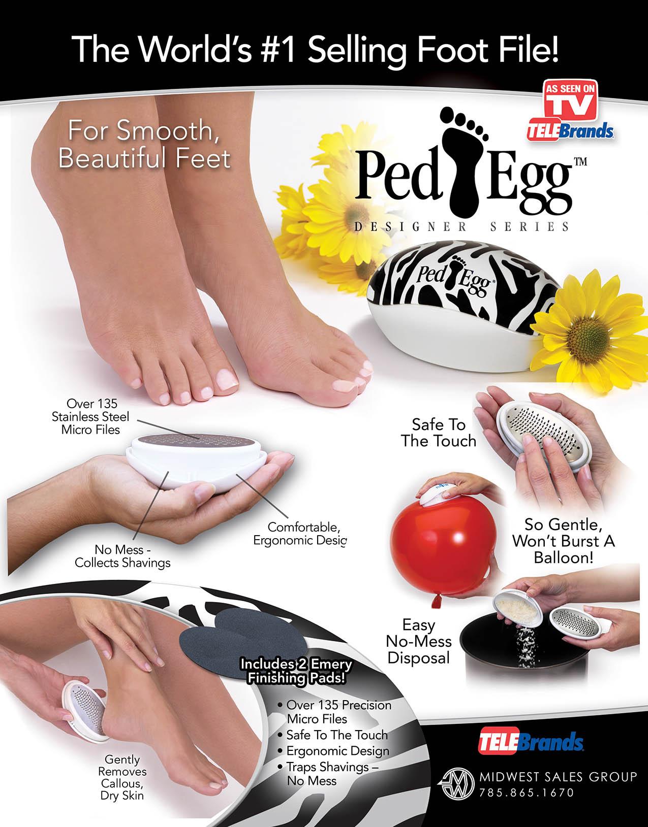 Ped Egg Zebra SELL SHEET