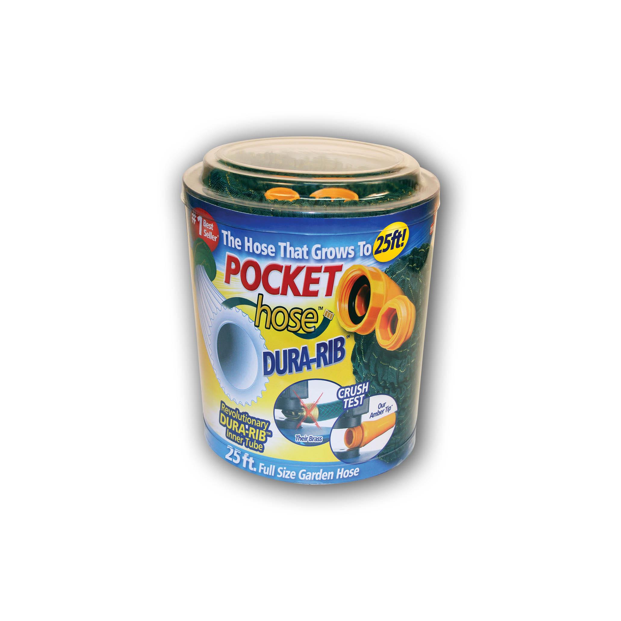 Pocket Hose DuraRib 25' WS