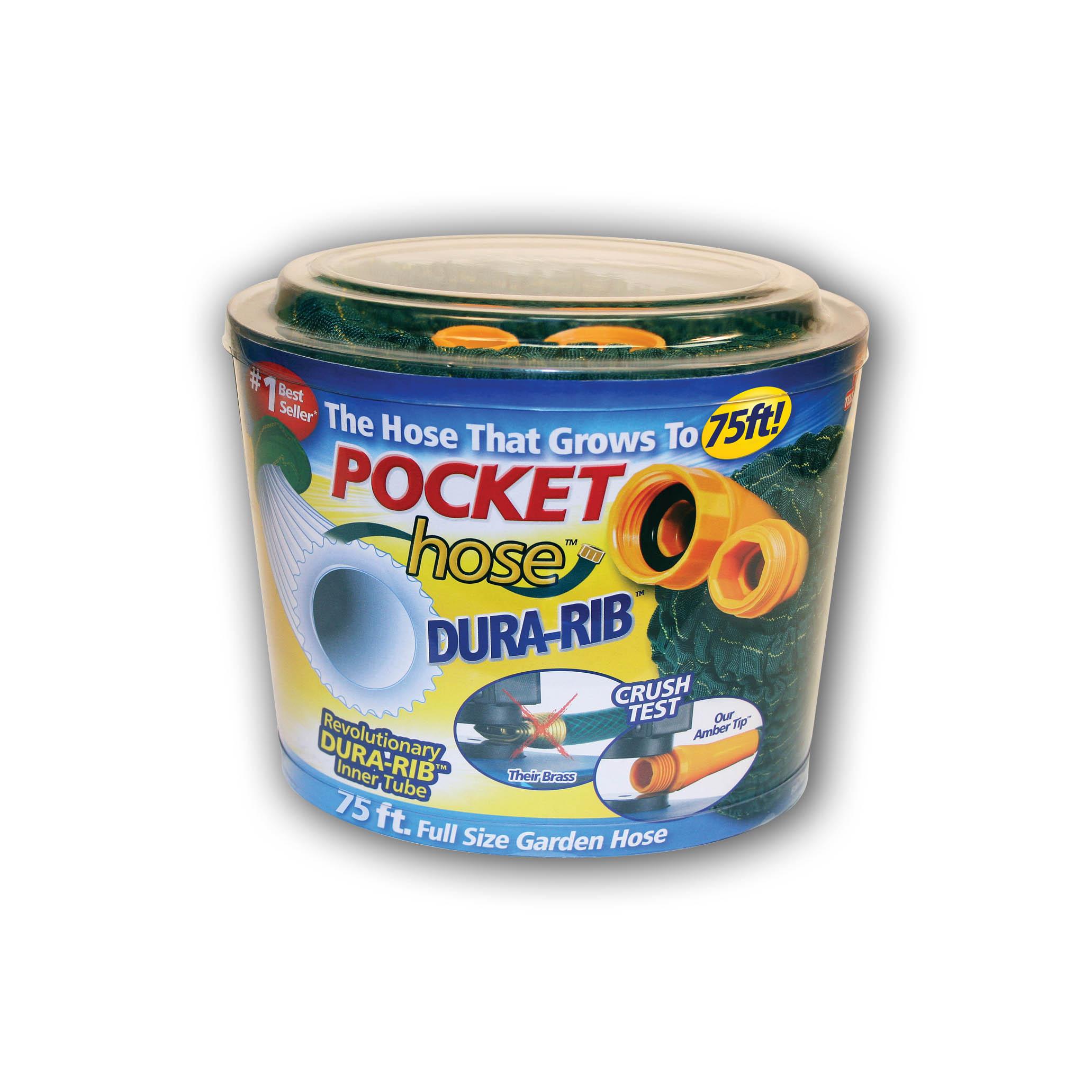 Pocket Hose DuraRib 75' WS