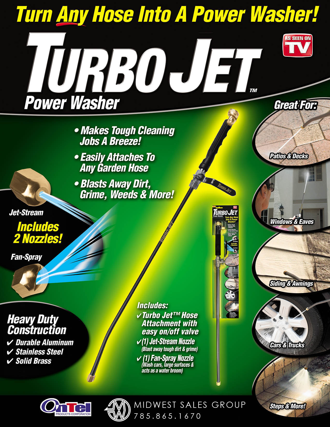 Turbo Jet SELL SHEET