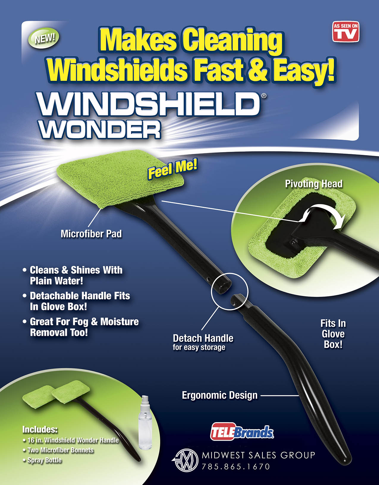 Windshield Wonder Sell Sheet