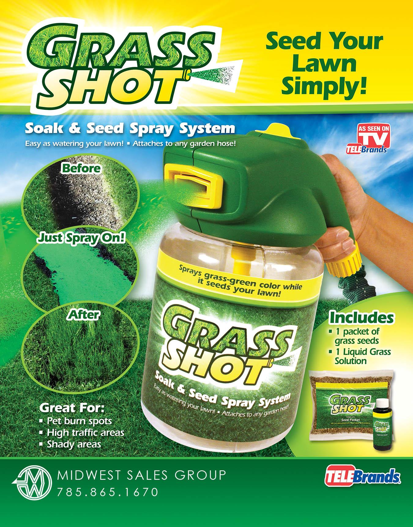 grass shot SELL SHEET