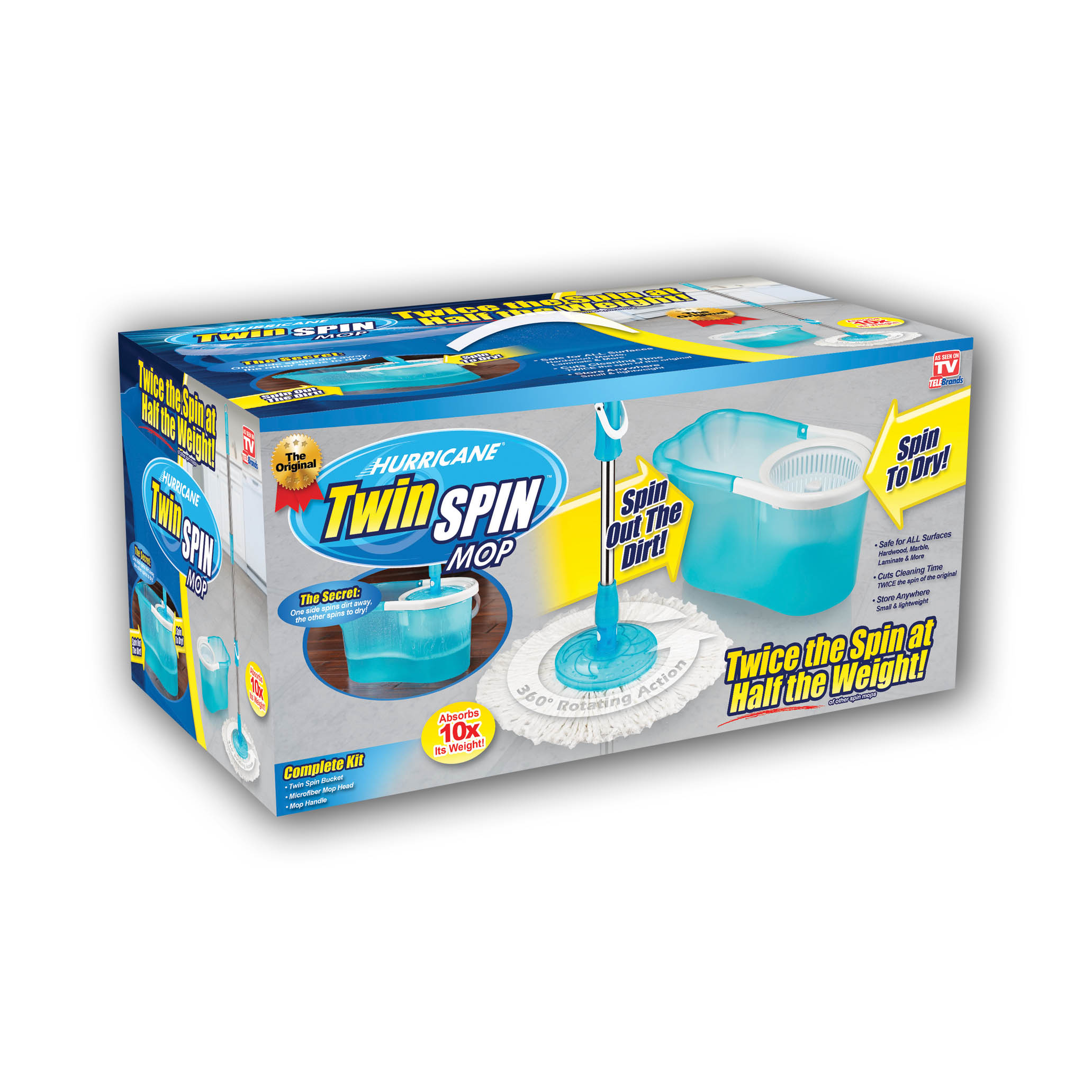 Twin Spin Mop WS