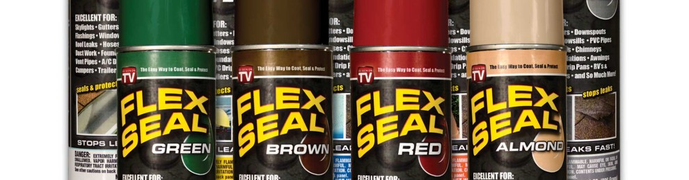 Exciting Product Flex Seal Colors