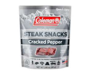 Coleman Premium Steak Snacks – Cracked Pepper